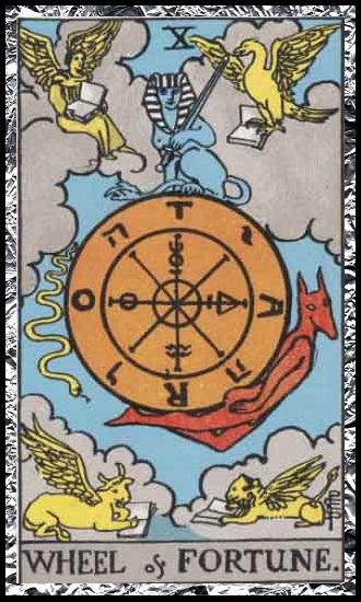 10 - Wheel of fortune