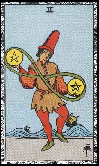 Two Pentacles