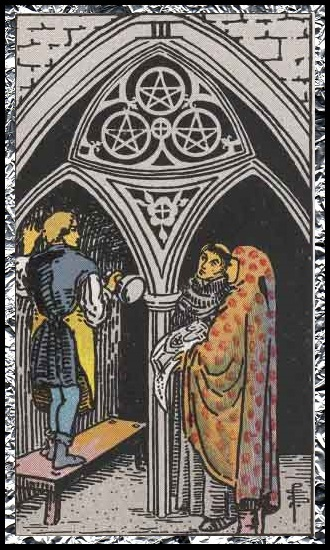 Three Pentacles
