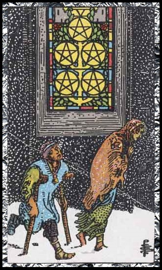 Five Pentacles